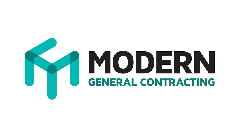 Modern Contracting Logo Concept